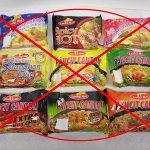 No more instant noodles
